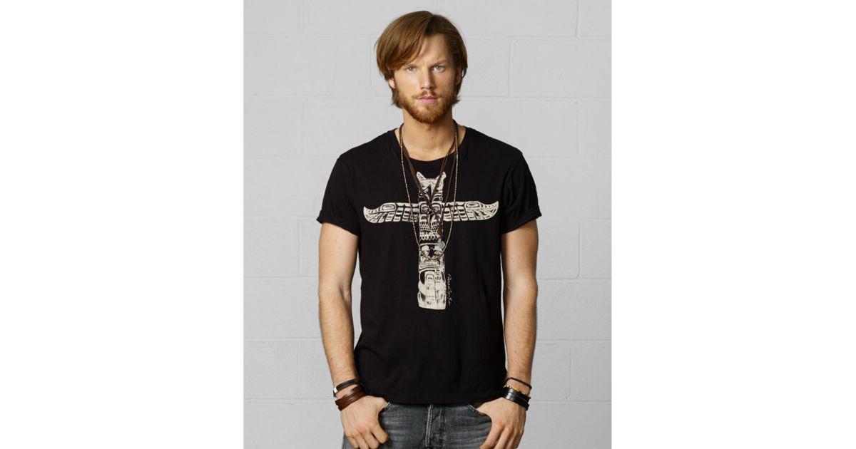 004720ec83 Lyst - Denim   Supply Ralph Lauren Totem Pole Graphic Tshirt in Black for  Men