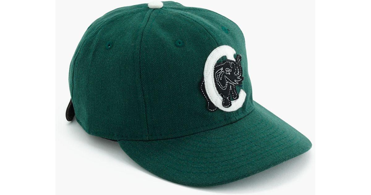 Lyst - J.Crew Ebbets Field Flannels Cienfuegos Elefantes Ball Cap in Green  for Men bdee1da00f16