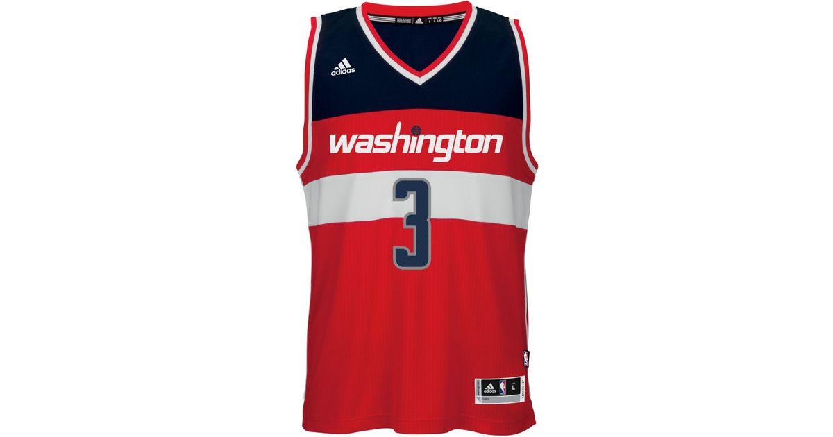 finest selection 88a93 0d18f Adidas Originals - Red Men's Bradley Beal Washington Wizards Swingman  Jersey for Men - Lyst