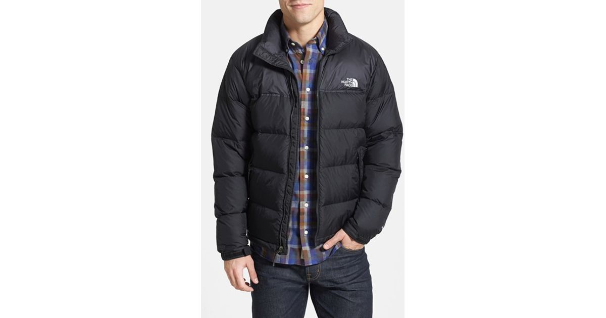 The north face 'nuptse' Packable Quilted Goose Down Jacket, Black ...