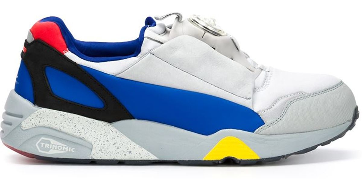 newest bec0c 2f9d0 Alexander McQueen X Puma  mcq Disc  Sneakers in Blue for Men - Lyst