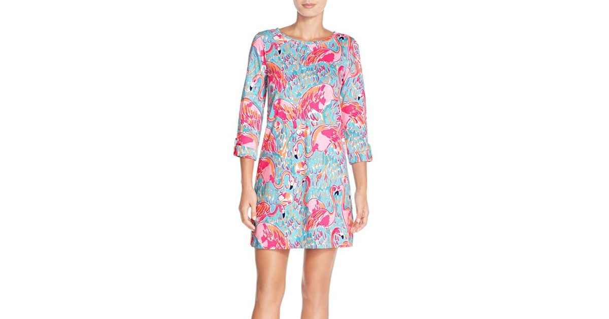 3218caf623604d Lilly Pulitzer 'linden' Pima Cotton Dress - Lyst