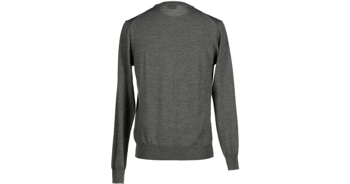 hilfiger denim cardigan in gray for men lyst. Black Bedroom Furniture Sets. Home Design Ideas