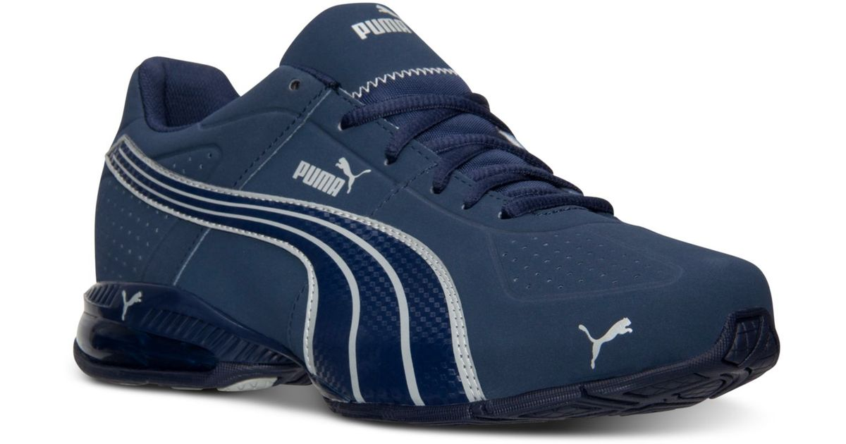 Lyst - PUMA Men S Cell Surin Nubuck Running Sneakers From Finish Line in  Blue for Men 5b41e8b366e3