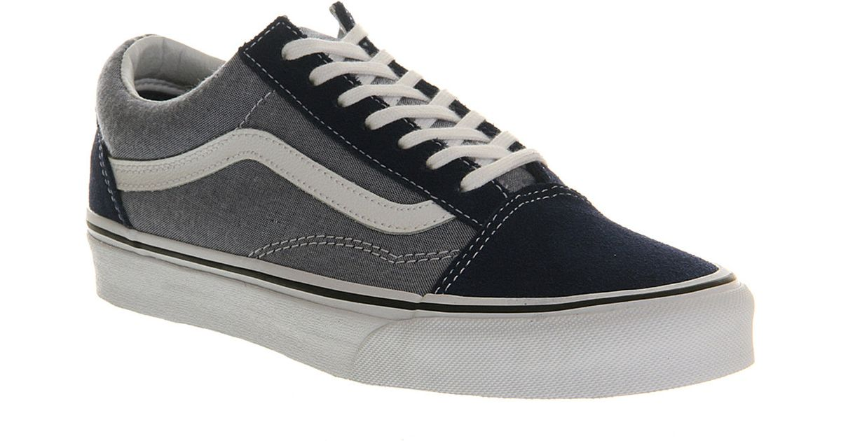 9e900255df03 Vans Old Skool Trainers Estate Blue Chambray in Blue for Men - Lyst