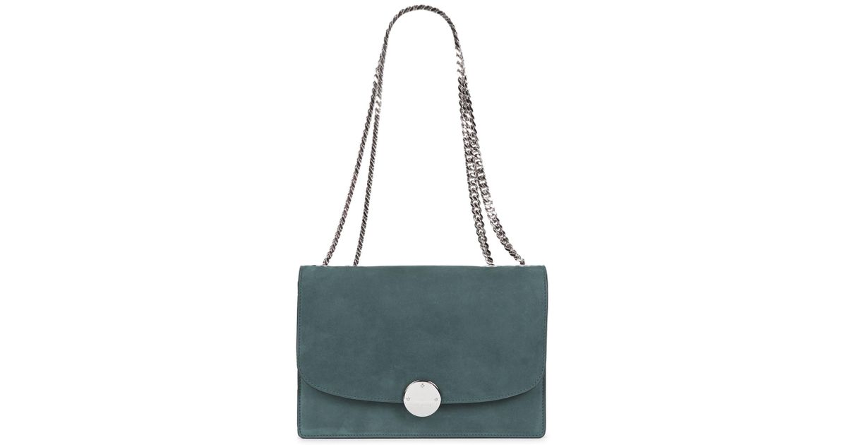 Marc Jacobs Trouble Teal Suede Shoulder Bag in Blue - Lyst b968810f5a932
