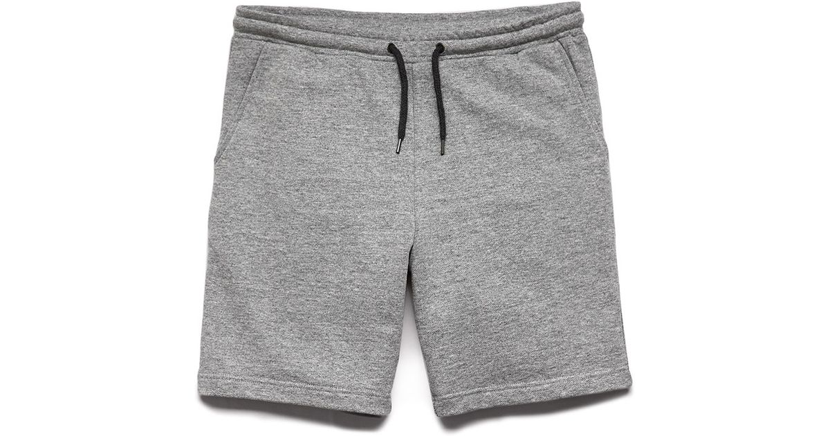 order online professional sale save up to 80% Forever 21 Gray Cotton-blend Drawstring Shorts for men