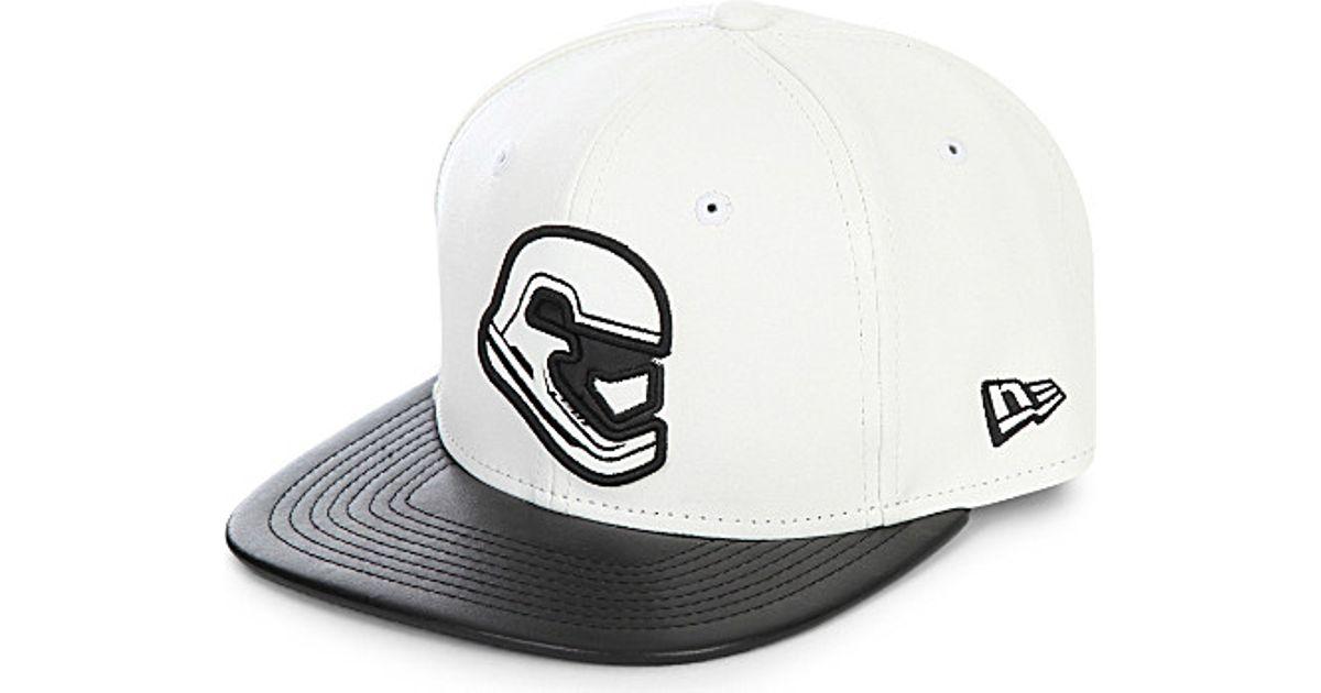 151e7c010c3 KTZ 9fifty Stormtrooper Snapback Cap in Black for Men - Lyst