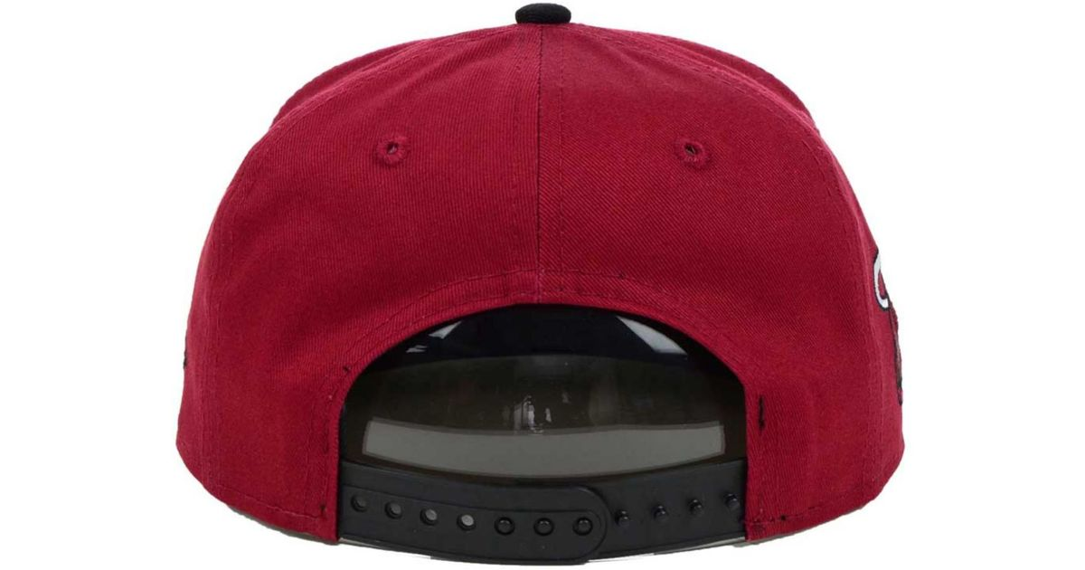 Lyst - KTZ Kids  Lebron James Miami Heat Player 9Fifty Snapback Cap in Red  for Men 23f8c44cb25