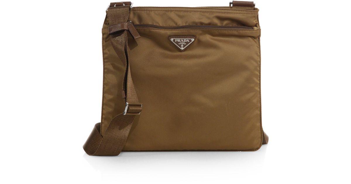 ... where can i buy prada nylon messenger bag brown 7492a 521e4 21d2e9e791cb0