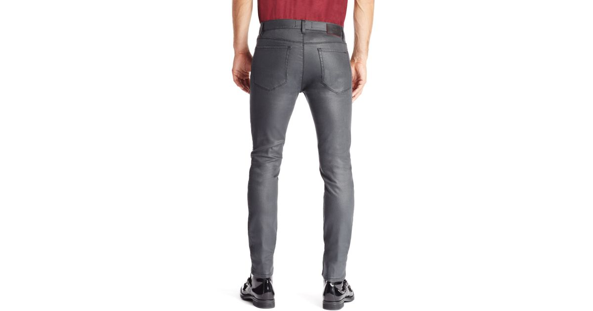 Slim-fit jeans in stretch denim with contrast piping HUGO BOSS Sale Low Price Outlet Order qOzht8S