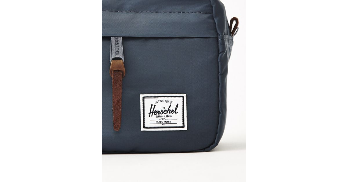 8b244573fb4 Lyst - Herschel Supply Co. Supply Co. Chapter Wash Bag - Navy in Blue for  Men