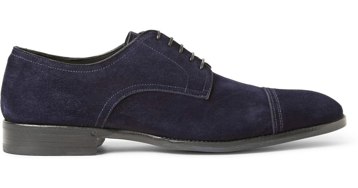 Suede Oxford Shoes Brioni r7jqs9aw7I