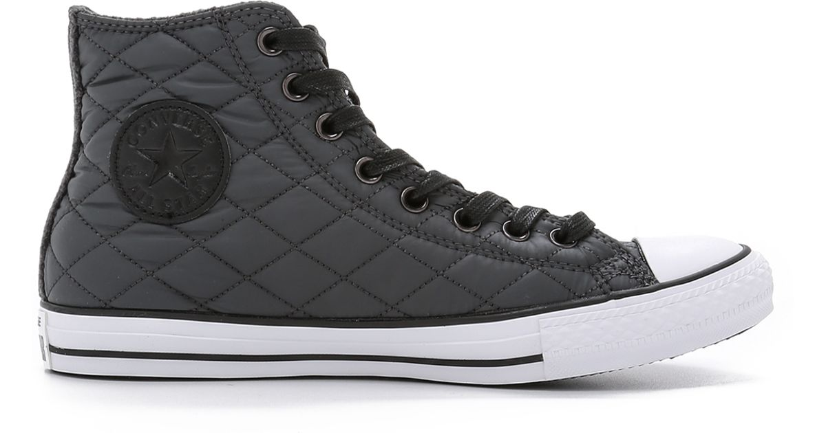 a205984003c6ab Converse Chuck Taylor All Star Quilted High Top Sneakers in Black for Men -  Lyst