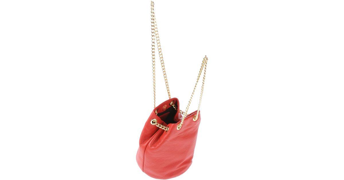 0d441e4ea3 Lyst - Alberta Di Canio Shoulder Bag in Red