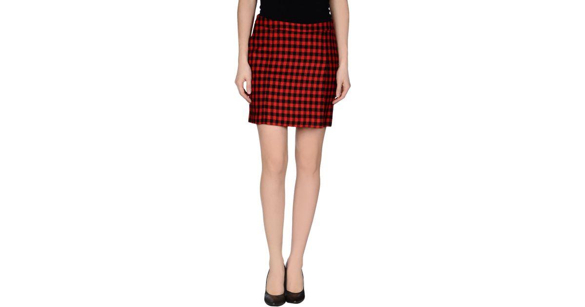 Love moschino Mini Skirt in Red