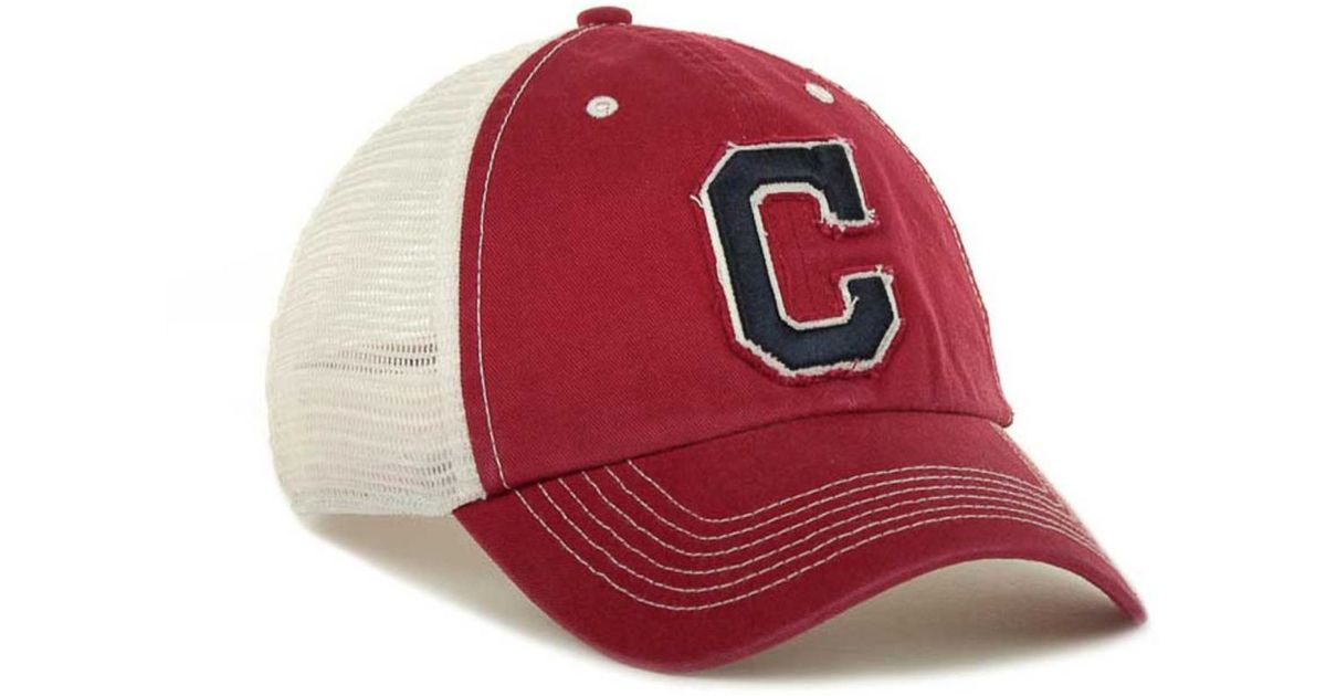 de55764dc 47 Brand Cleveland Indians Mlb Blue Mountain Franchise Cap in Red for Men -  Lyst