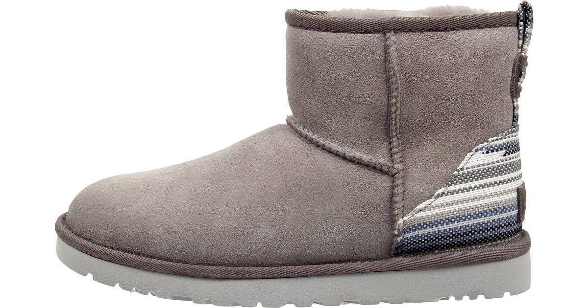 e68b9a991fe coupon code for ugg classic mini serape fabric 6b4c8 e0ffd