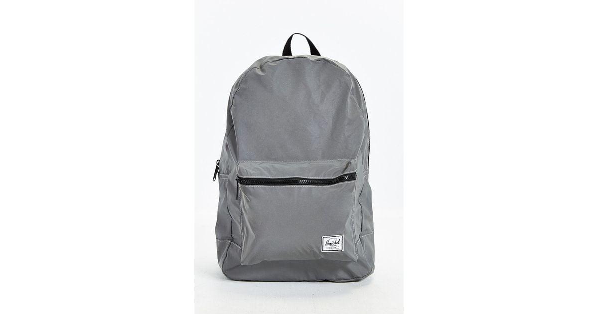03040bbe475 Lyst - Herschel Supply Co. 3m Reflective Packable Daypack in Metallic for  Men