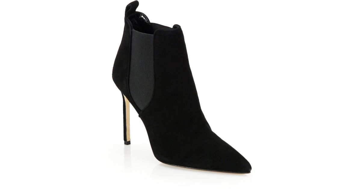 buy cheap huge surprise Manolo Blahnik Pointed-Toe Mid-Calf Boots discount how much real cheap price Uxulh