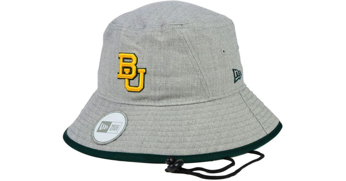 0e8d6988b1810 ... coupon for order lyst ktz baylor bears tip bucket hat in gray for men  d1f97 559b8
