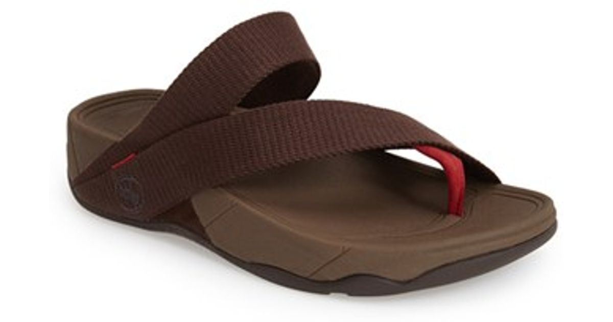 3ef6570b93522 Lyst - Fitflop  sling  Thong Sandal in Brown for Men