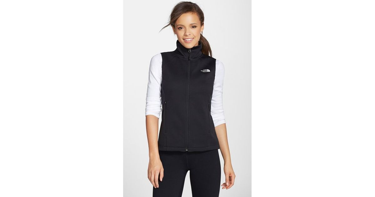 f819a89e547a Lyst - The North Face  canyonwall  Hardface Fleece Vest in Black