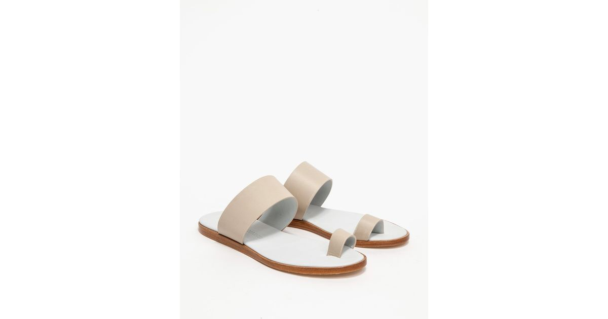 Woman by Common Projects White Leather Minimalist Sandals prLN4iOt