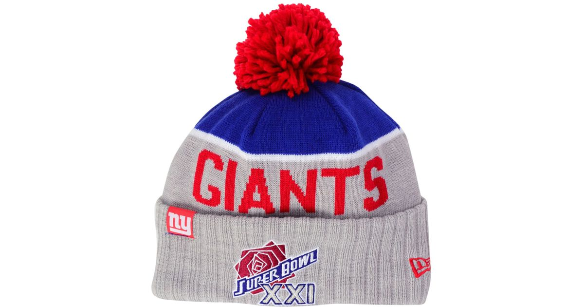 sale mens new york giants new era red sideline sport knit hat sizes 004d2  757a1 468b7f3df5