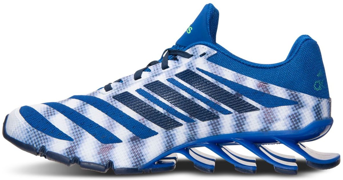 best sneakers 441e7 da671 ... official store lyst adidas mens springblade ignite running sneakers  from finish line in metallic for men