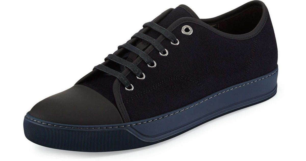 Lanvin Sneakers Bas-top - Bleu Si8QleuR