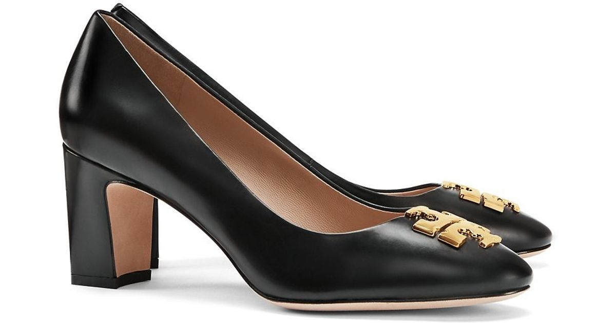 a8ce357be1cc63 Lyst - Tory Burch Raleigh Pump in Black