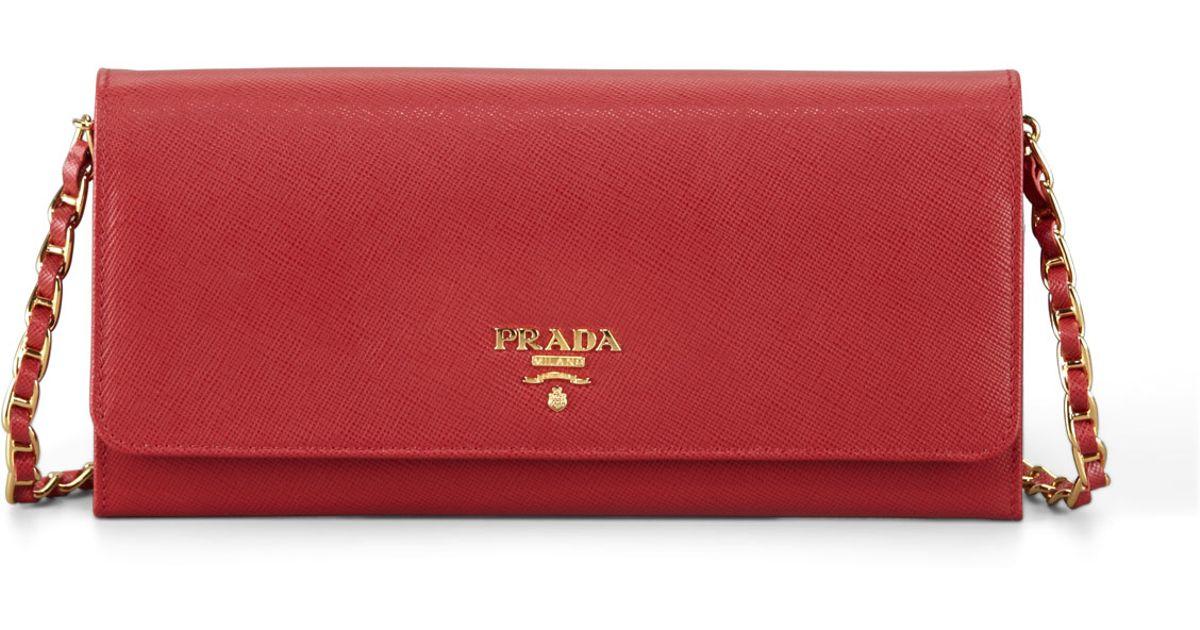 prada phone wallet