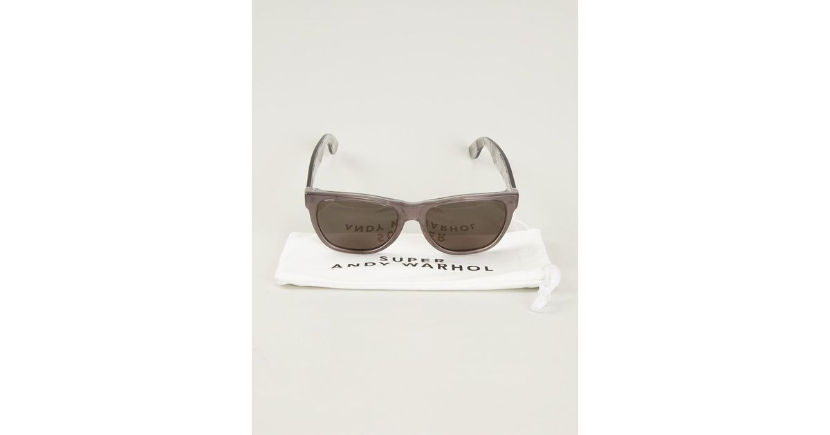 a5a20c0078 NY 1965 Andy Warhol Source · Retrosuperfuture america X Andy Warhol  Sunglasses in Gray Lyst