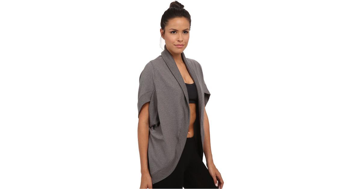 Trina turk Quilted Kimono Jacket in Gray | Lyst : quilted kimono jacket - Adamdwight.com
