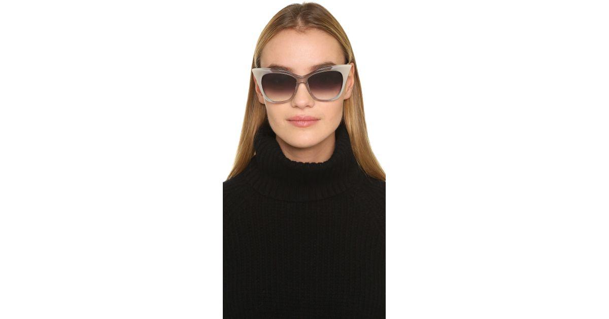 29442a6b1e8f Lyst - DITA Magnifique Sunglasses in Gray