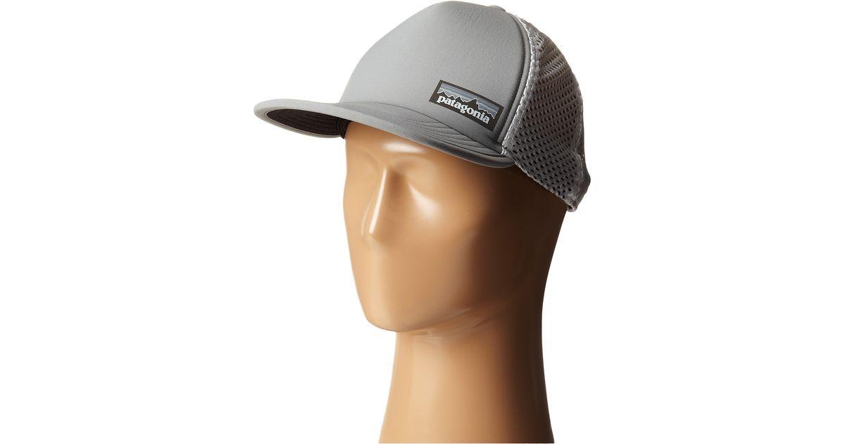 c3e011ff1d4 Patagonia Duckbill Trucker Hat in Gray - Lyst
