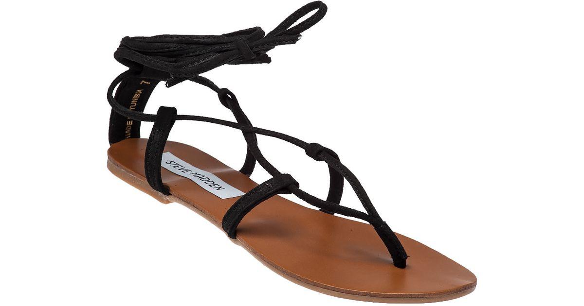 5a713244f792 Lyst - Steve Madden Werkit Suede Sandals in Black