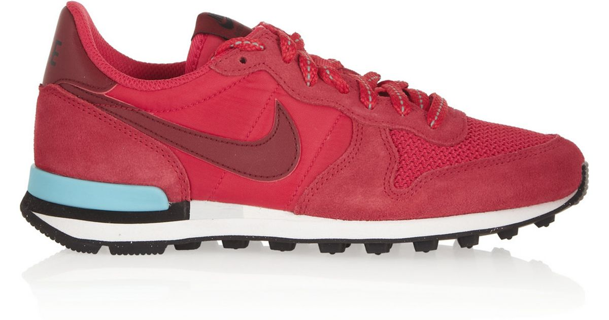 the best attitude 77829 dc793 ... ireland lyst nike internationalist sneakers in red a2e00 0e900