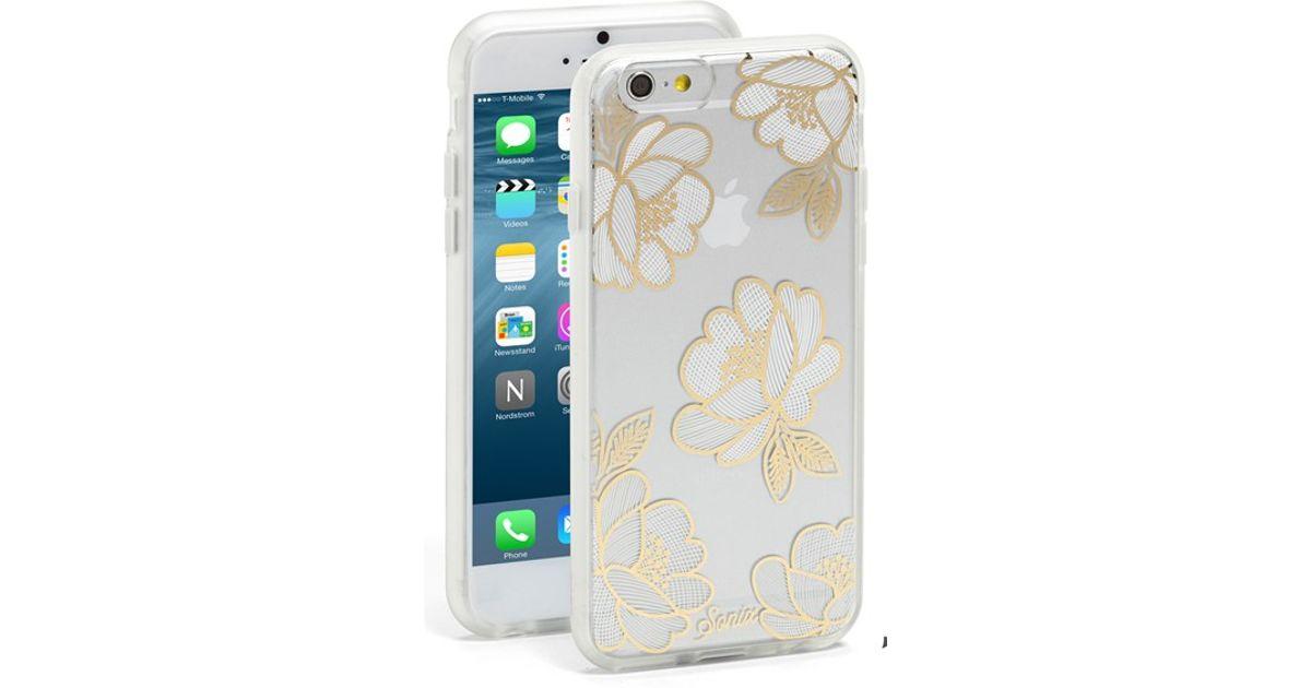 buy popular bf6f8 fce91 Sonix Orange 'florette' Iphone 6 Plus & 6s Plus Case