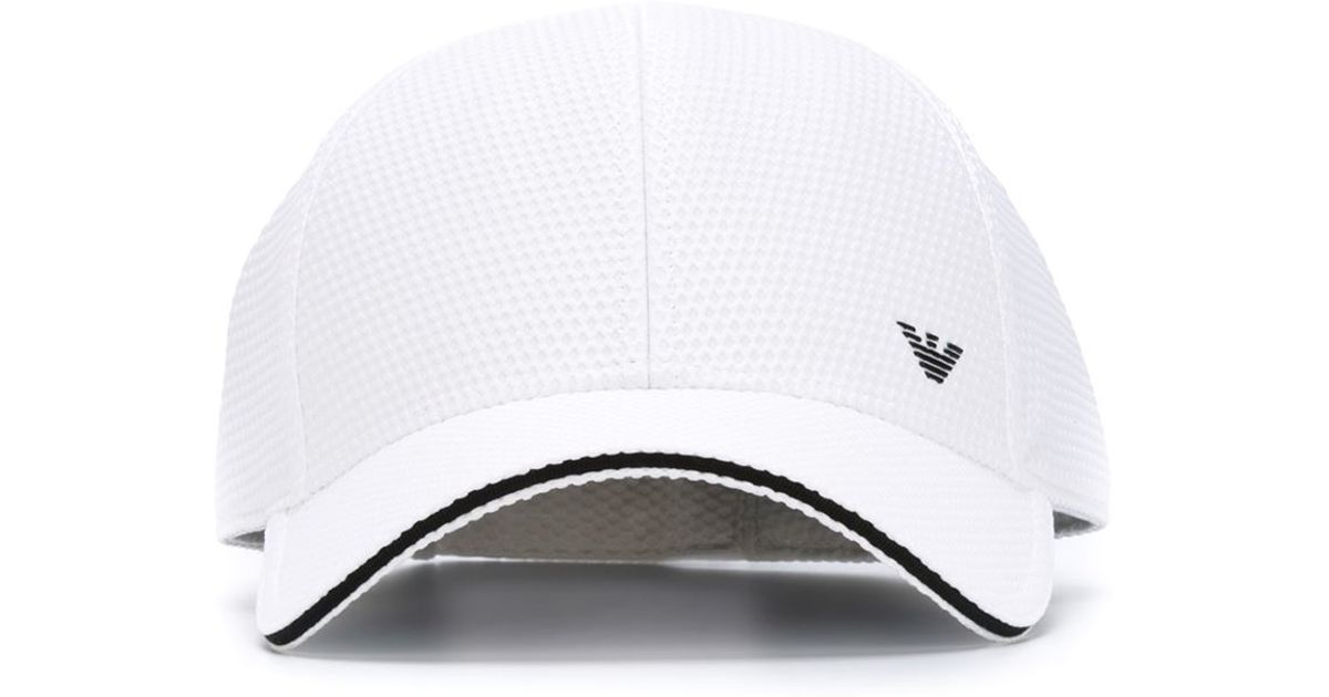 Lyst - Emporio Armani Baseball Cap in White for Men 0791bfe00b3