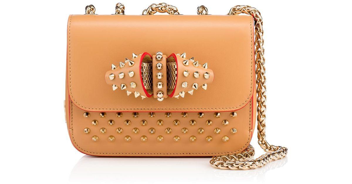 69b15615bdf Christian Louboutin - Natural Sweet Charity Baby Chain Bag - Lyst