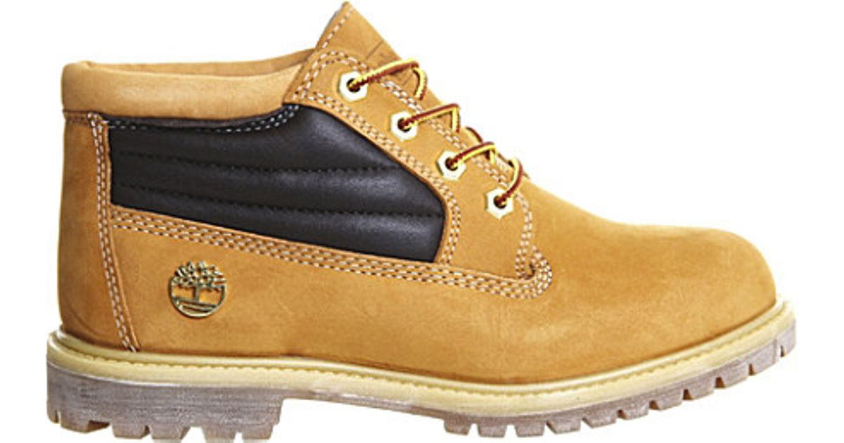 Timberland Nellie Padded Collar Boot in Natural - Lyst 20c2b1f7fd