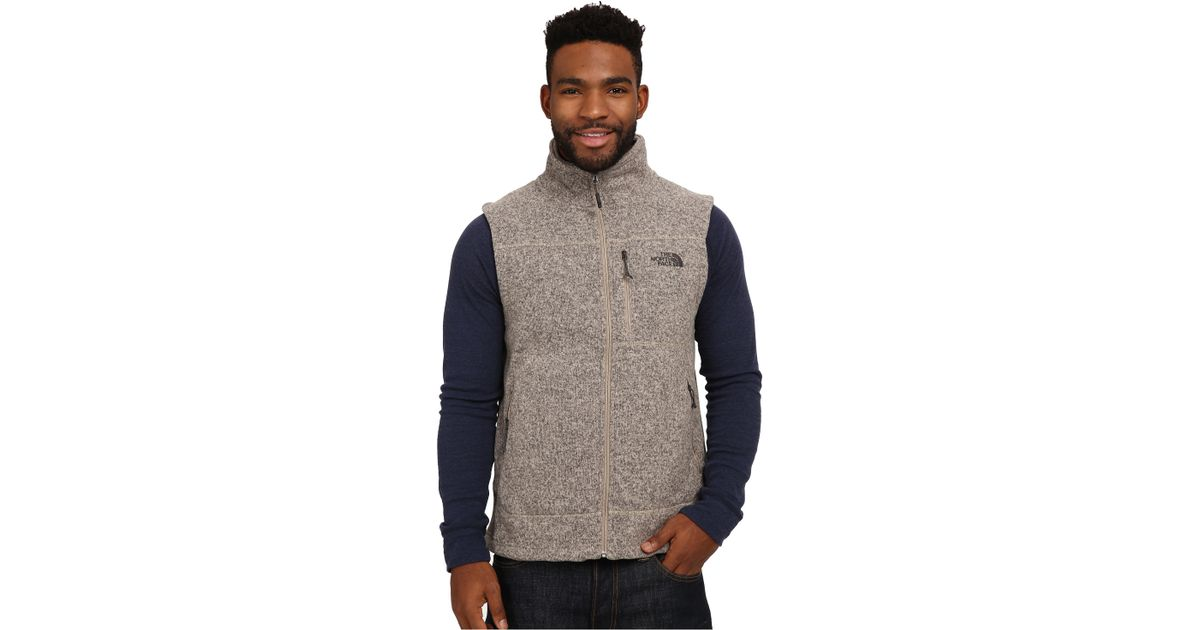 cdc4757cfd39 Lyst - The North Face Gordon Lyons Vest in Natural for Men