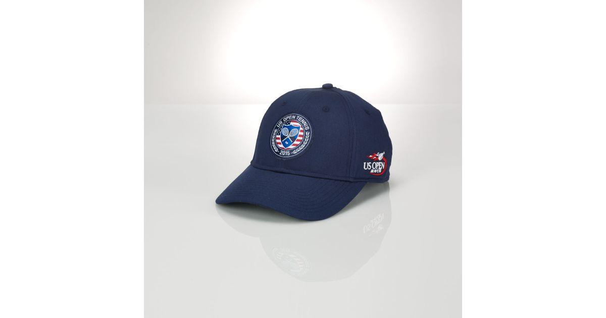 Ralph Lauren Us Open Patch Baseline Hat in Blue for Men - Lyst fac191c40f2