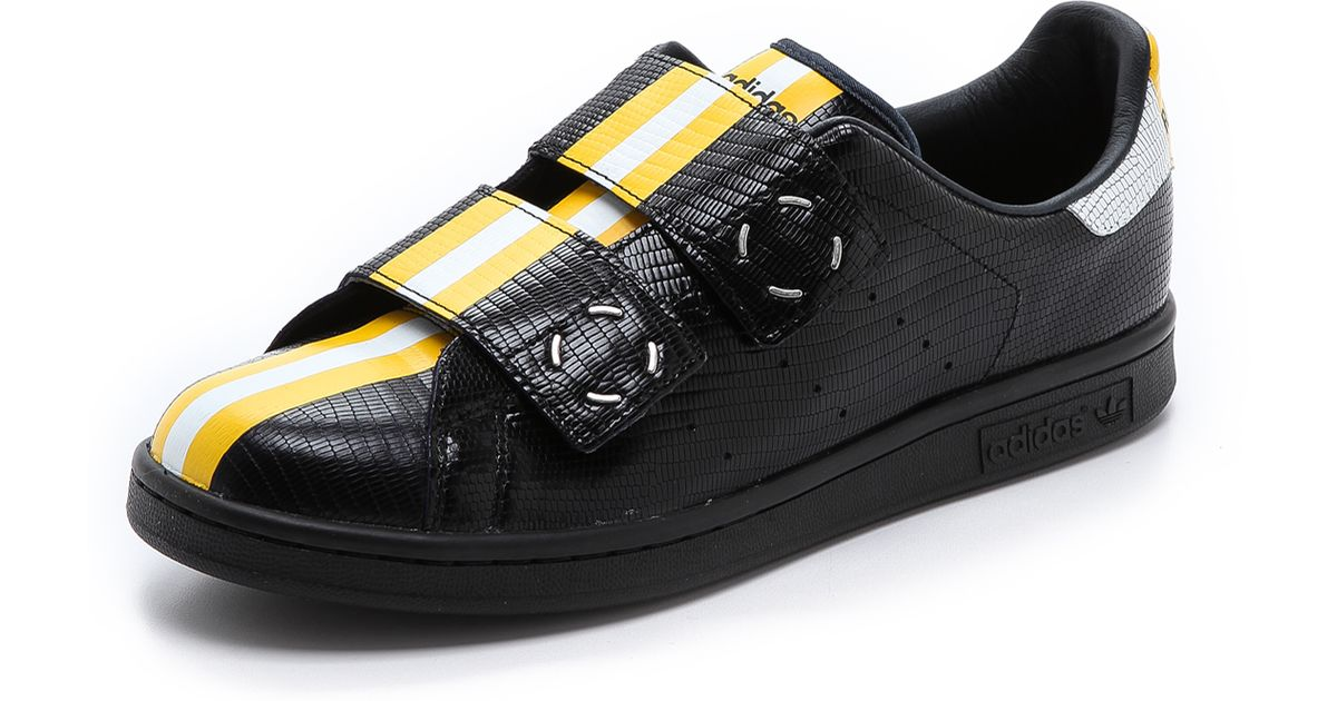 newest d576f c437a Adidas By Raf Simons Yellow Mens Stan Smith Rs Sneakers for men