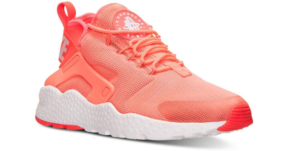 Hombres Nike Air Huarache Run Run Run Ultra Casual Zapatos Finish Line E 1c77f5