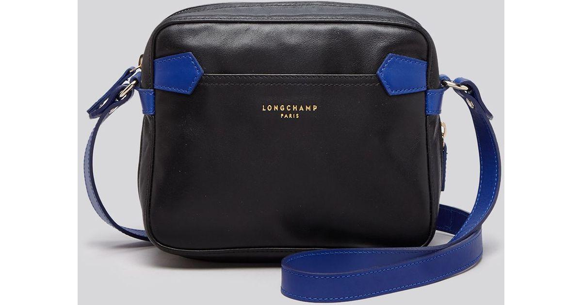 Lyst - Longchamp Crossbody - 2.0 in Black 3ab60689ec992