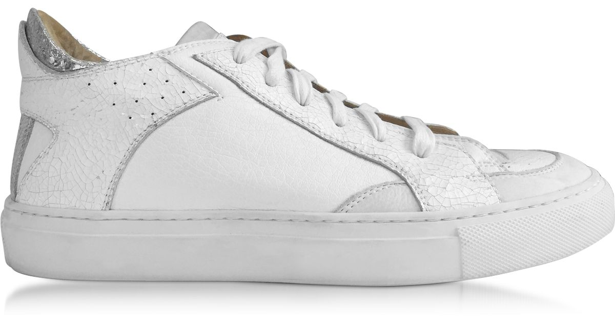 MM6 Maison Margiela MM6 by Maison Martin Margiela Leather Low-Top Sneakers limited edition cheap price cheap sale cheap QuQIv
