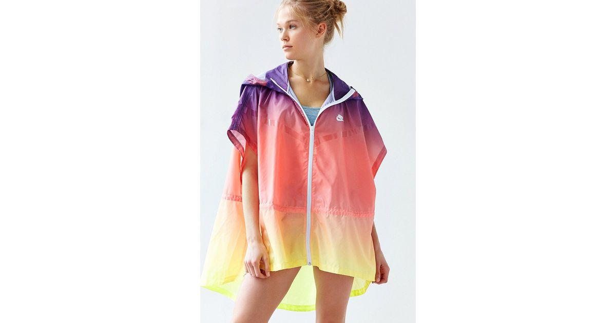 8206319ba9f1 Lyst - Nike R U Sunset Poncho